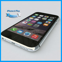 3d model apple iphone 6