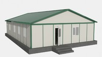 prefabricated office 3ds