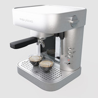 3d morphy richard coffee maker model