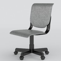 office chair uv 2 3d max
