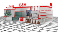 B&M Exhibition Stand Design 3