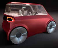 Compact electric concept car 9