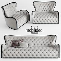 mobilidea margot divano 3d model