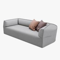 moroso massas sofa 3d obj