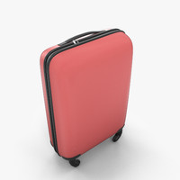 3ds max luggage case suitcase travel bag