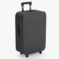 suitcase luggage case obj