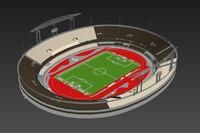 3d morumbi stadium