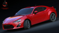 3ds max toyota gt 86 2013
