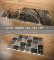 3d set rugs v-ray 2