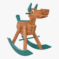 children s wooden horse max