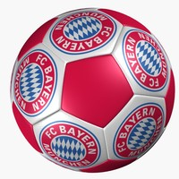 3d model soccer ball bayern munich