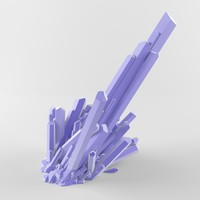 crystal ready 3d model
