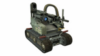 ugv unmanned ground vehicle 3d 3ds