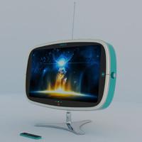 concept vintage tv nikola max