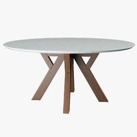 Round table Bross Trigono