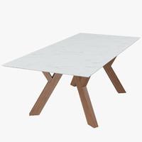 3d model table bross trigono
