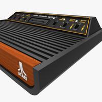 3d model atari 2600