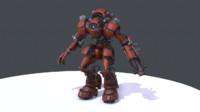 Robot MR-V04_red