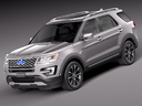 Ford explorer 3D models