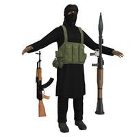ultimate terrorist 3d model
