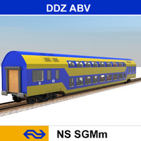 passenger train 3d 3ds