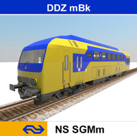 3ds max passenger train ddz