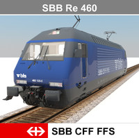 3d model of passenger train