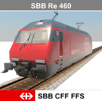 3d ready passenger train model