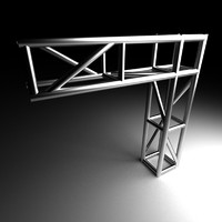 3d supporting truss model