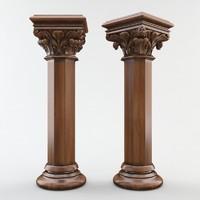 obj gothic column