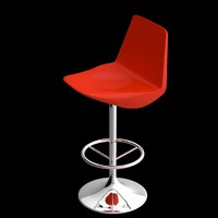 3d bar stool unwrapped uv
