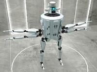 3d robot ci205 model