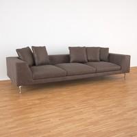 3d model zliq mooi sofa