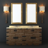 3d heirloom hardware furniture set