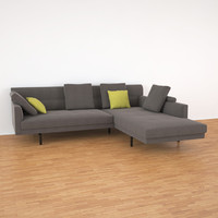 3ds max gordon walter knoll sofa