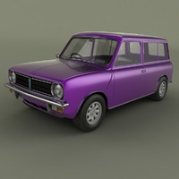 3d austin mini clubman estate