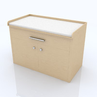 3d model changing table