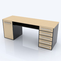 c4d desk table