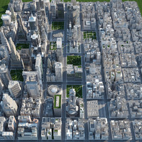 city - big 3d max