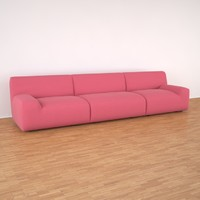 welcome paola lenti sofa 3d model