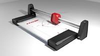 3d model paper trimmer