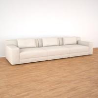 3d model carlito loop sofa