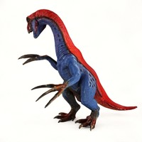 therizinosaurus 3ds