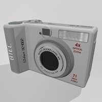 camera digital btec 3d model