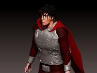 roman captain 3d model