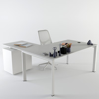 office desk nurus 3d max