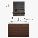 bathroom furniture 3D models