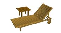 3dsmax chair lounge