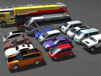 3ds cars object