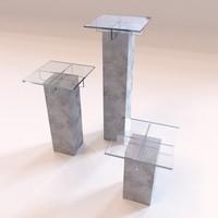 Roche Bobois - Small furniture Tenere stools